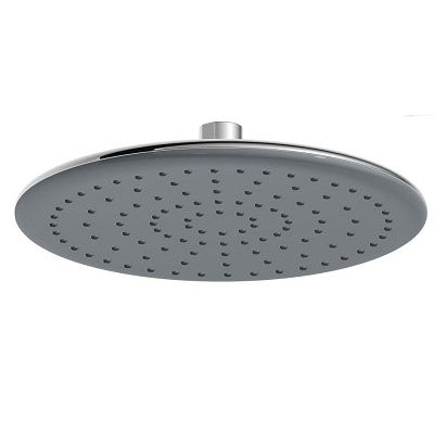 8 inch Rainfall Spray Shower Head Single Function Large Size Color Faceplate