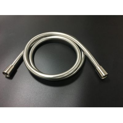 Shiny Brushed Nickel Flexible PVC Shower Hose