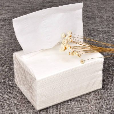 OEM Soft Wood Pulp Facial Tissue Paper