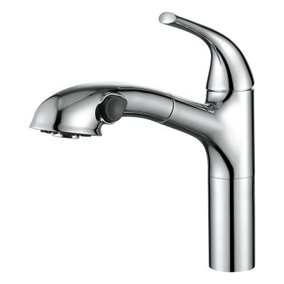 Cold and Hot Water Pull Out Kitchen Sink Faucet